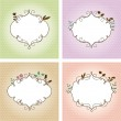 Floral frames — Stock Vector #11806186