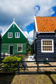 Typical dutch houses — Stock Photo