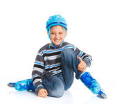 Young skater — Stock Photo