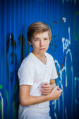 Young smile teenager — Stock Photo