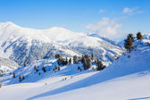 Skiing resort in Austria — Stockfoto