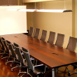 Stock Photo: Meeting table