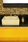 Modern bathroom sink — Foto Stock