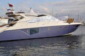 Luksusowy jacht — Zdjęcie stockowe