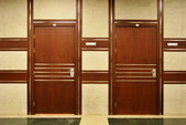 Office doors — Stock Photo