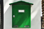 Post box — Stock Photo