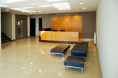 Reception and lobby — Stock Photo