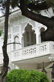 Balcone della Villa — Foto Stock
