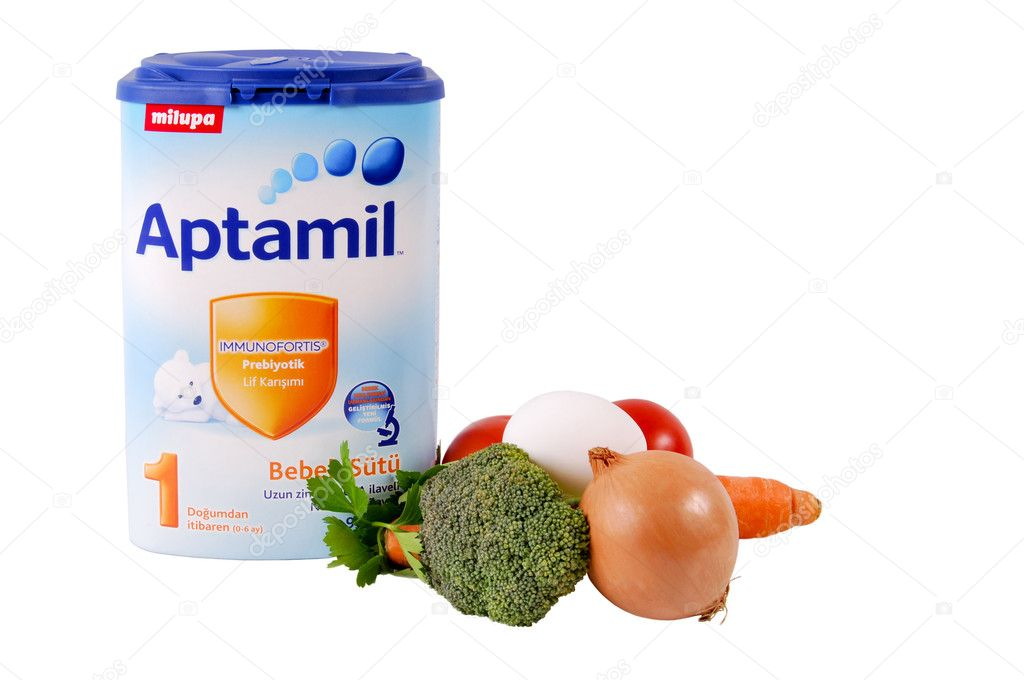Milupa Aptamil, baby food is very nutritious  Stock Photo #11173070