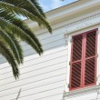 Shuttered house — Stock Photo