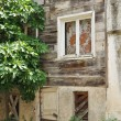 Stockfoto: Old wooden house