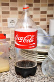 Coca Cola Bottle — Stock Photo