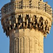 Mosque and minaret - Stock Photo