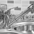 Kitchen sink and tap — Stock Photo #11294343