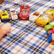 Children and toys — Stockfoto