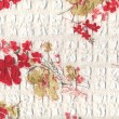 Floral fabric — Stock Photo