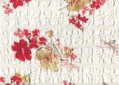 Kwiatowy tkaniny — Zdjęcie stockowe