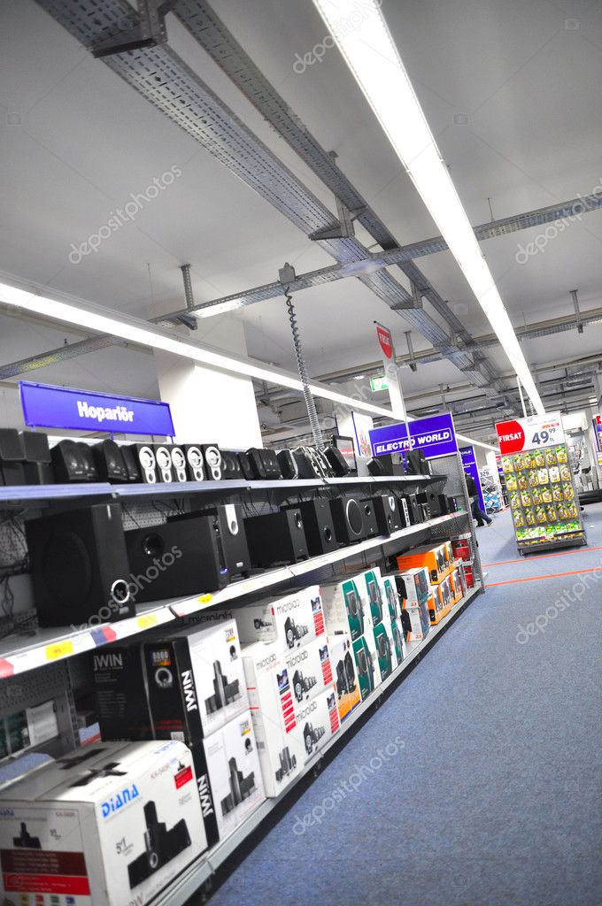 Technology market, part of the sound system — Stock Photo #11293320