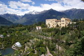 The Botanic Garden of Merano — Stock Photo