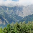 Stock Photo: Swiss mountain panorama