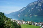The Walensee in Switzerland — Stock Photo