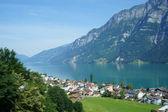 O walensee na Suíça — Fotografia Stock