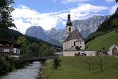 Nature Park Berchtesgaden Alps — Stock Photo