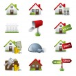 Real Estate Business Icon Set — Stock Vector #11261793