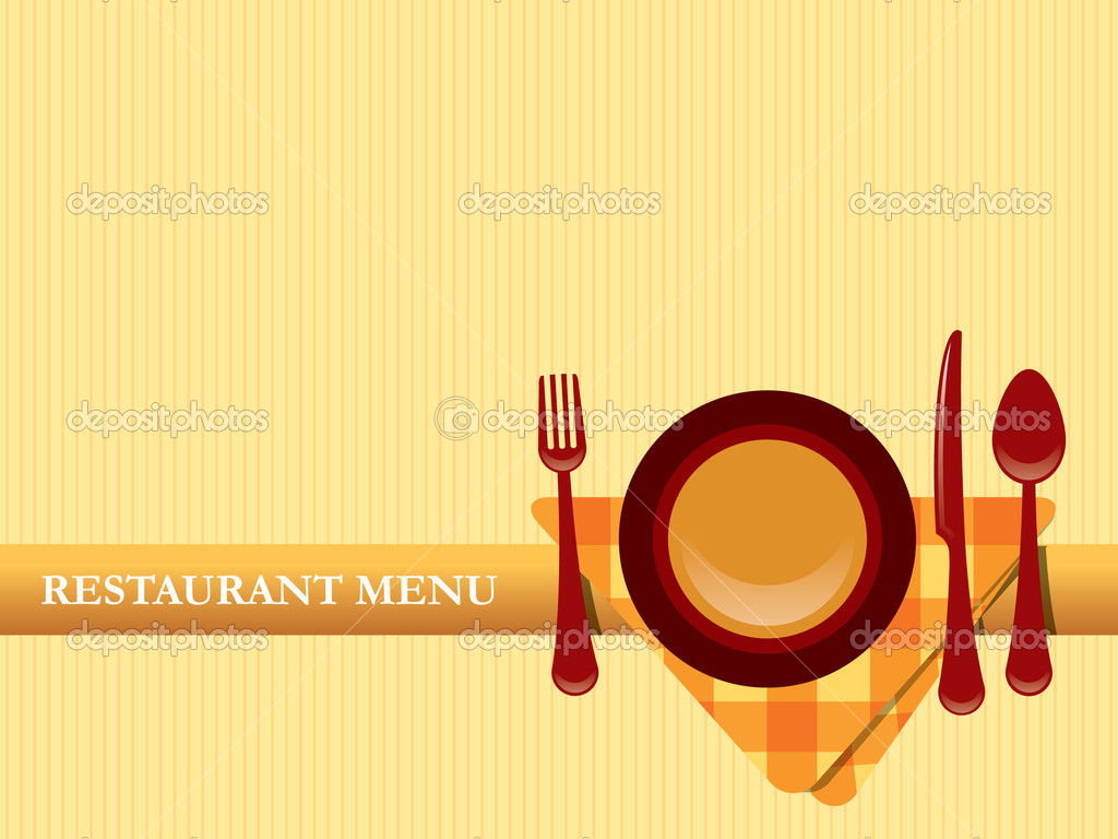 Restaurant menu design vector — stock graphit