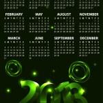 Calendar for 2013 vector — Stock Vector #11538024