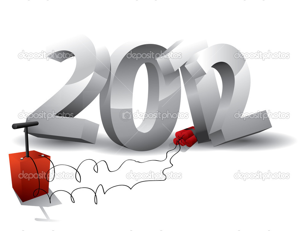 2012 bomb - end of the world? — Stock Vector #11538005