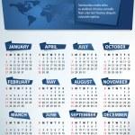 Calendar for 2013 vector — Stock Vector #11561886