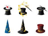 Magician's hat — Stock Vector