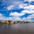 Foto de Stock  : View in Zaanse Schans in North Holland