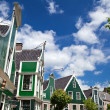 Buildings in Zaanse Schans — Stock Photo