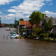 Stock Photo: Small Dutch town