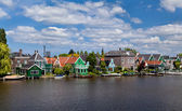 Town Zaanse Schans in Netherlands — Stock Photo