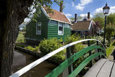 Small charming Dutch town — Stock Photo