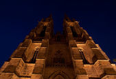 St. Elisabeth's Church in Marburg — Stock Photo