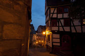 Night streets in Marburg — Photo