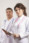 Medical doctors group. — Stockfoto