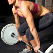 Female Fitness Workout - Stok fotoğraf