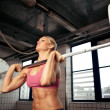 Stock Photo: Strong Bodybuilding Female