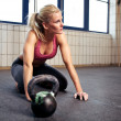 Crossfit Woman Resting — Stock Photo #11199578