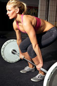 Female Fitness Workout — Stock Photo