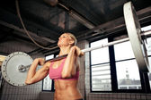 Starke bodybuilding frauen — Stockfoto