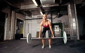 Deadlift — Stockfoto