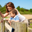Mother and Son Bonding — Stock Photo #12104034