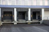 Loading dock — Stock Photo