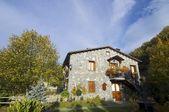 Spanish village Pyrenees — Stock Photo